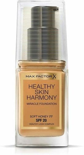 12 x Max Factor Healthy Skin Harmony Foundation | Soft Honey 77 | RRP £180 | 30m